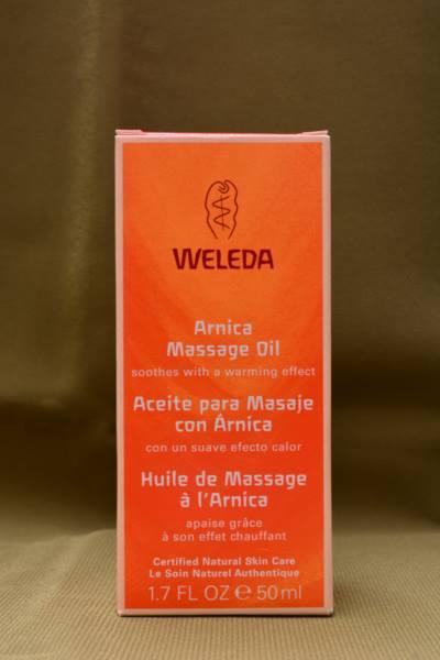 Óleo de Arnica e Bétula para massagem
